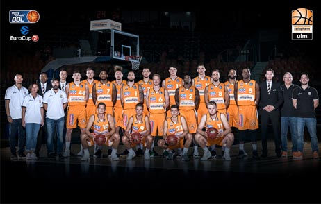 Teambild ratiopharm Basketball